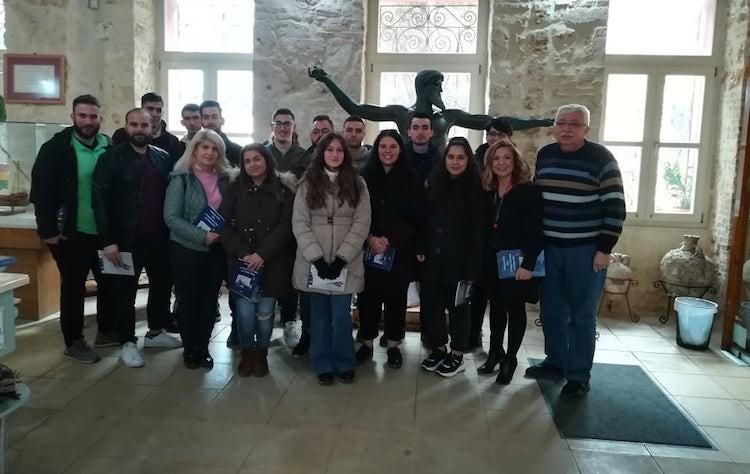 Επίσκεψη στο Ναυτικό Μουσείο Κρήτης από το ΙΕΚ ΔΕΛΤΑ 360