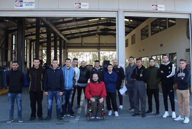Εκπαιδευτική επίσκεψη στο ΙΚΤΕΟ «AUTOVISION» από τους σπουδαστές της Μηχανοτρονικής