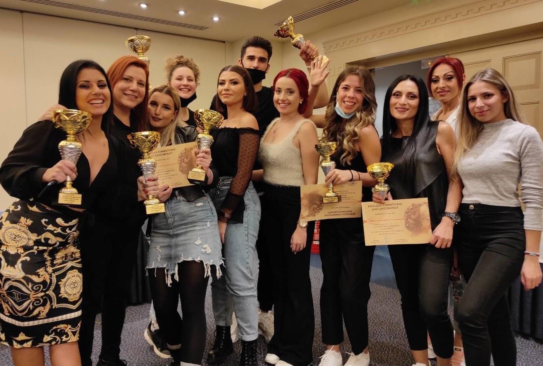Νέες επιτυχίες των σπουδαστών Κομμωτικής του ΙΕΚ ΔΕΛΤΑ 360!