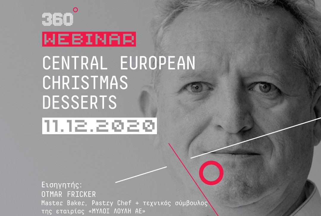 Webinar: Central European Christmas Desserts by Otto Fricker