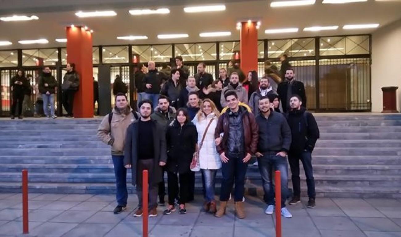 Οι σπουδαστές Πληροφορικής στη διάλεξη του Δρ. Δασκαλάκη του MIT