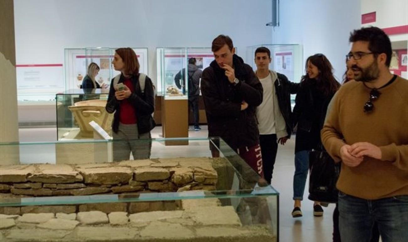 Επίσκεψη στο Αρχαιολογικό Μουσείο Πατρών