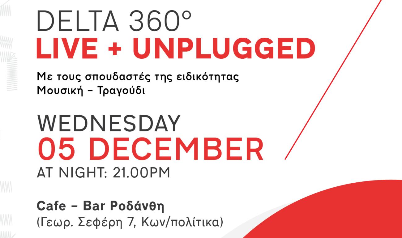 Delta 360° Live Unplugged