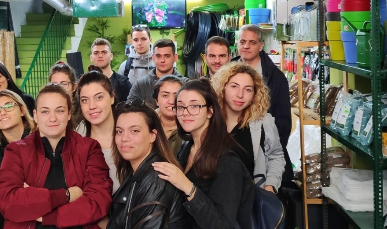 Οι σπουδαστές Βιολογικής Γεωργίας στο Γεωπονικό Κέντρο Green & Organic