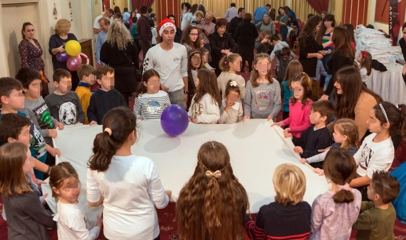 Χριστουγεννιάτικη γιορτή για τους μικρούς μας φίλους στη Λέσχη Αξιωματικών Φρουράς Ιωαννίνων (Λ.Α.Φ.Ι)
