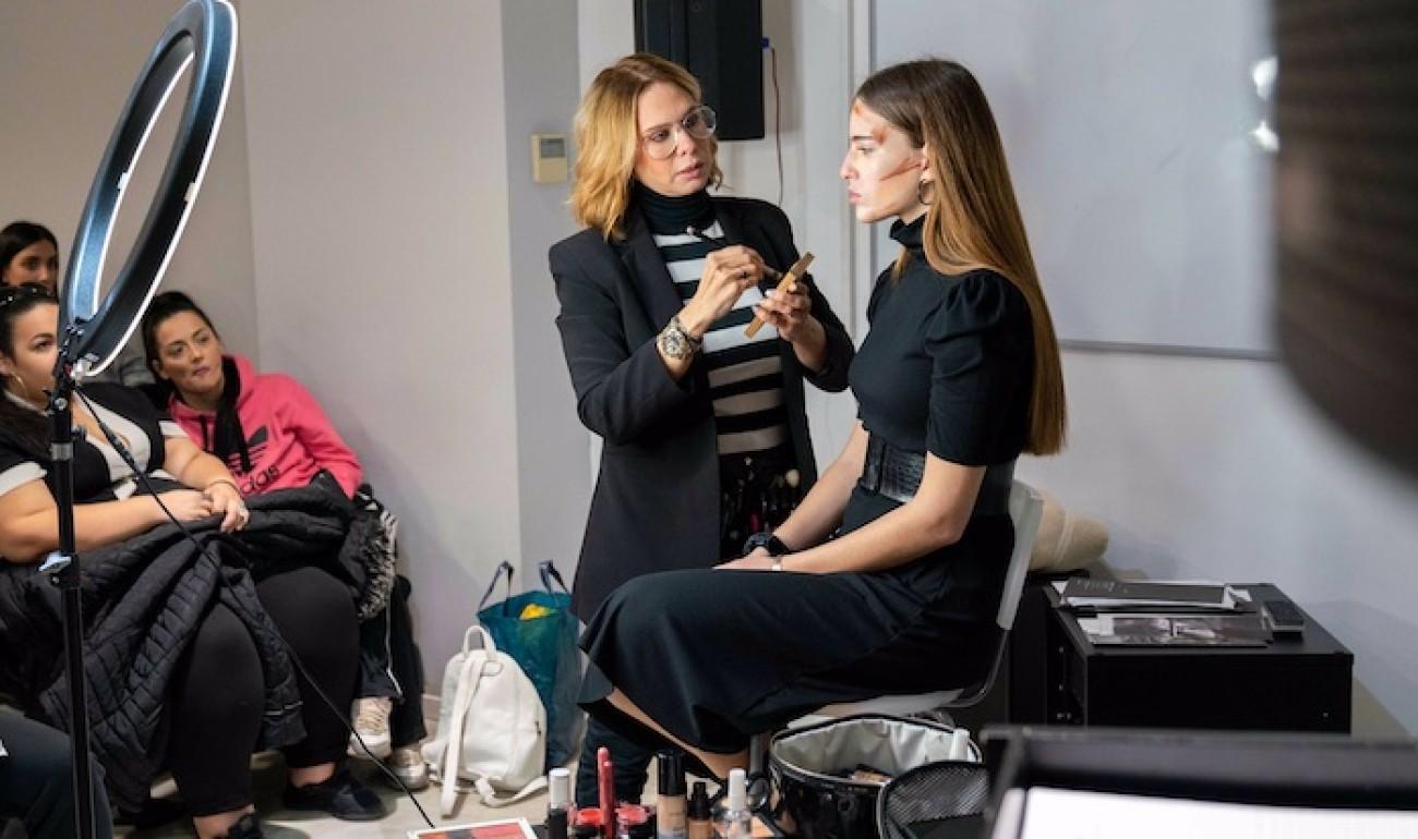 Το ΙΕΚ ΔΕΛΤΑ 360 συνάντησε την κορυφαία make-up artist Έλενα Χατζηνικολίδου, με το αποτέλεσμα να είναι μοναδικό!