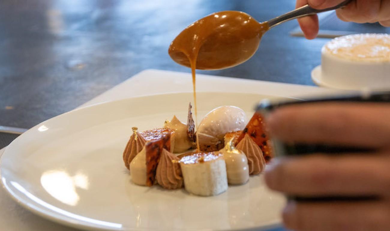Ο Γιώργος Αυγέρος δημιούργησε μοναδικά restaurant desserts και σταθήκαμε περήφανοι μπροστά στο δικό μας Success Story