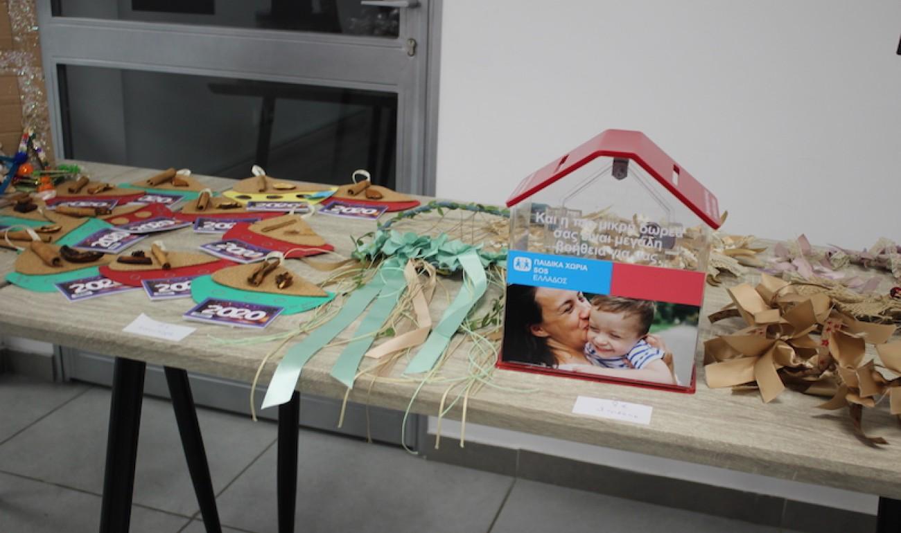 Χριστουγεννιάτικο Bazaar του ΙΕΚ ΔΕΛΤΑ 360 για τα παιδιά των ΠΑΙΔΙΚΩΝ ΧΩΡΙΩΝ SOS Καλαμάτας!