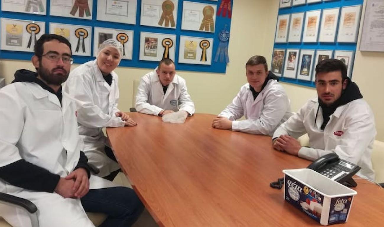 Επίσκεψη του ΙΕΚ ΔΕΛΤΑ 360 στο τυροκομείο Αρβανίτη