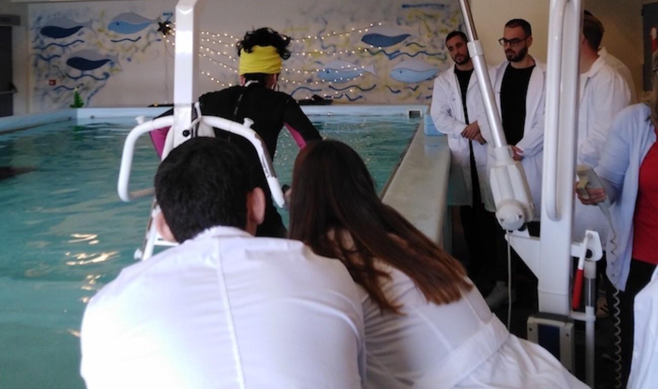 """Εκπαιδευτική επίσκεψη στο Πρότυπο Κέντρο Αποκατάστασης και Αποθεραπείας """"ΔΙAΠΛΑΣΗ"""""""
