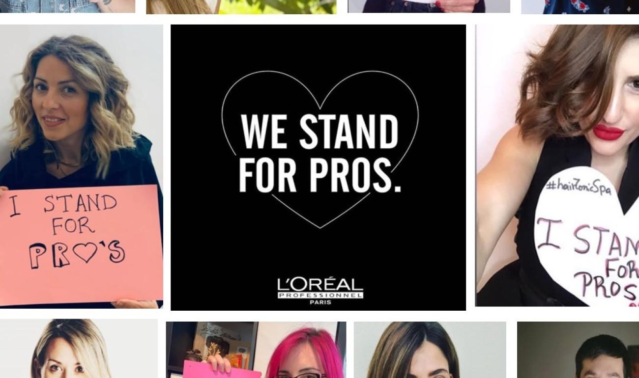 Η L'Oréal Professional Products στο πλευρό των επαγγελματιών του κομμωτικού κλάδου για τον  COVID19
